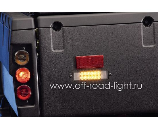 Передний указатель поворота с прозрачным стеклом (PY21W) фото-16