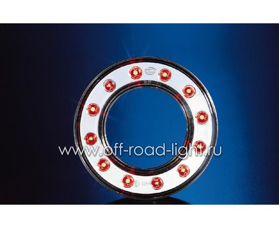 Передний габаритный огонь LED, D55мм/98мм, 1.8W 24V, фото