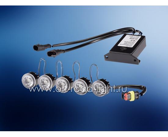 Комплект дневного освещения LEDayFlex 5x2, фото-