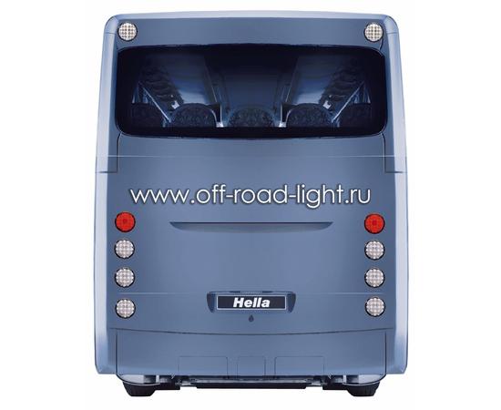 Задний светодиодный фонарь, прозрачное стекло (24 LED) 9-31V, фото , изображение 3