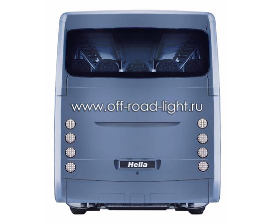Задний светодиодный фонарь, красное стекло (24 LED) 9-31V, фото , изображение 4