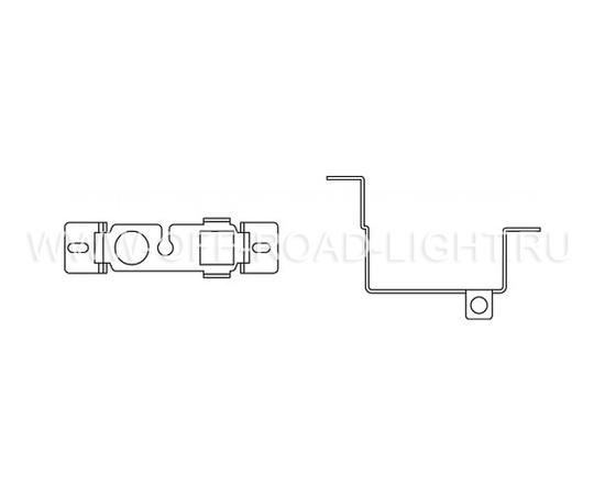 Набор для установки фар OSRAM LEDFOG101 NIS MOUNT, Nissan, фото , изображение 2