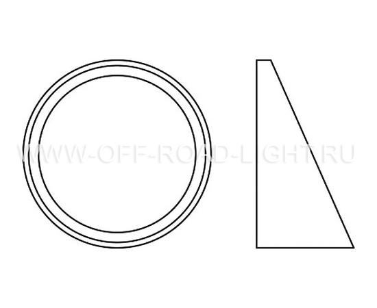 Набор для установки фар OSRAM LEDFOG101 NIS MOUNT, Nissan, фото , изображение 3
