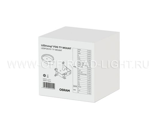 Набор для установки фар OSRAM LEDFOG101 TY MOUNT, Toyota, фото , изображение 3