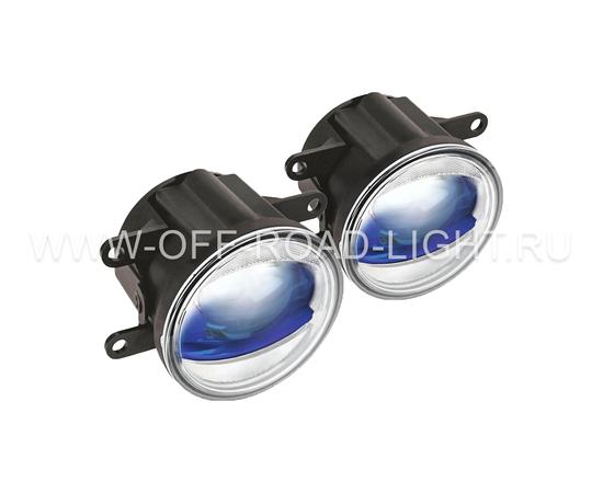 """Фара противотуманная OSRAM LEDFOG103 BL """"Орлиный глаз"""", 6000K, голубой, 4W/12W фото-1"""