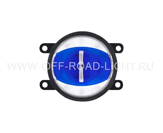 """Фара противотуманная OSRAM LEDFOG103 BL """"Орлиный глаз"""", 6000K, голубой, 4W/12W фото-3"""