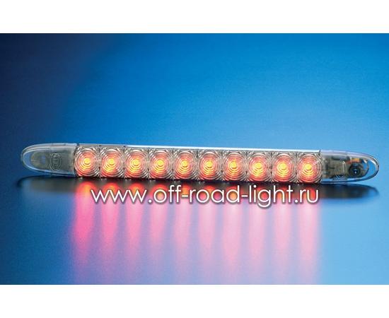 Стоп сигнал для внешней установки, серый (10 LED) 12V фото-1