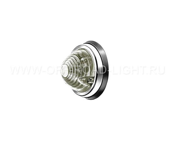 Белый стояночный огонь Hella D70мм (C5W, без лампы), фото-