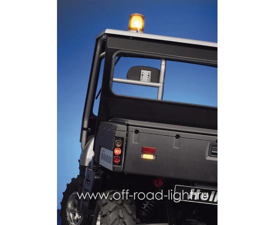Задний габаритный огонь LED, D55мм/98мм, 1.8W 24V, фото , изображение 12
