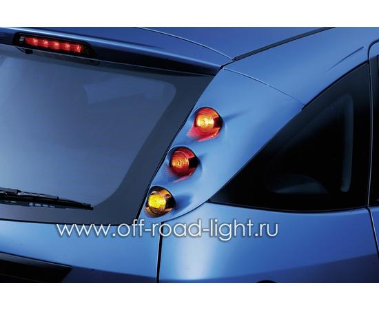 Задний габаритный огонь LED, D55мм/98мм, 1.8W 24V, фото , изображение 9
