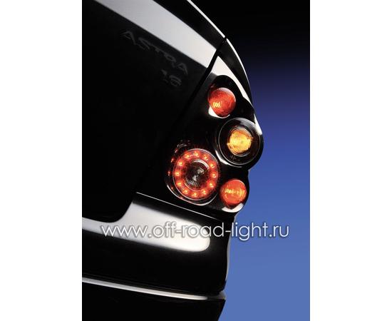 Задний габаритный огонь LED, D55мм/98мм, 1.8W 12V, фото , изображение 10