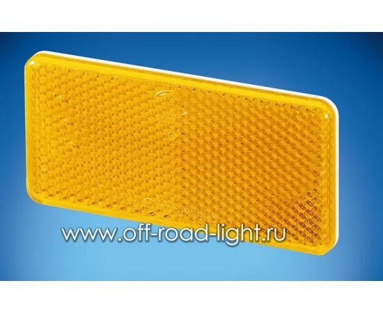 Отражатель желтый 94x44 фото-1