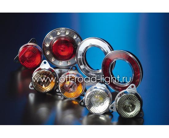 Задний габаритный огонь LED, D55мм/98мм, 1.8W 24V, фото , изображение 3