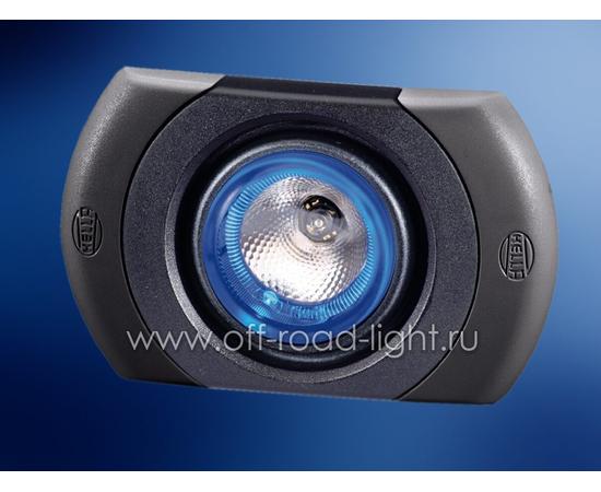 SpotLED без регулировки, цвет черно/cерый, Celis® голубой фото-1