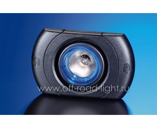 SpotLED без регулировки, цвет черный, Celis® голубой, фото-