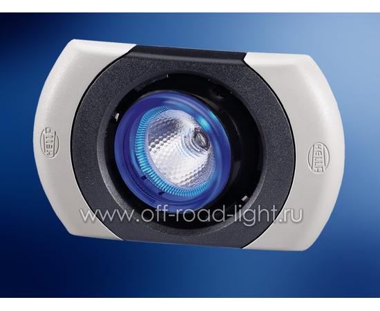 SpotLED угол рег. 20°, цвет черно/белый, Celis® голубой фото-1