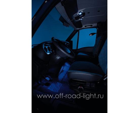 SpotLED угол рег. 20°, цвет черно/белый, Celis® голубой фото-4