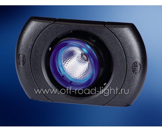 SpotLED угол рег. 20°, цвет черный, Celis® голубой, фото-