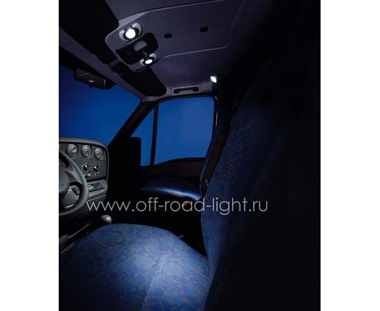 SpotLED угол рег. 20°, цвет черно/белый, Celis® голубой фото-3