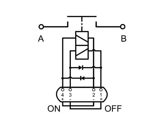 Сильноточное реле АКБ, IP54, Номинал 180A, фото , изображение 2