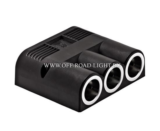 Розетка прикуривателя с 3-мя контактами, 12V, 24V, фото