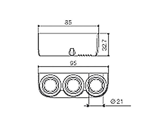 Розетка прикуривателя с 3-мя контактами, 12V, 24V, фото , изображение 2